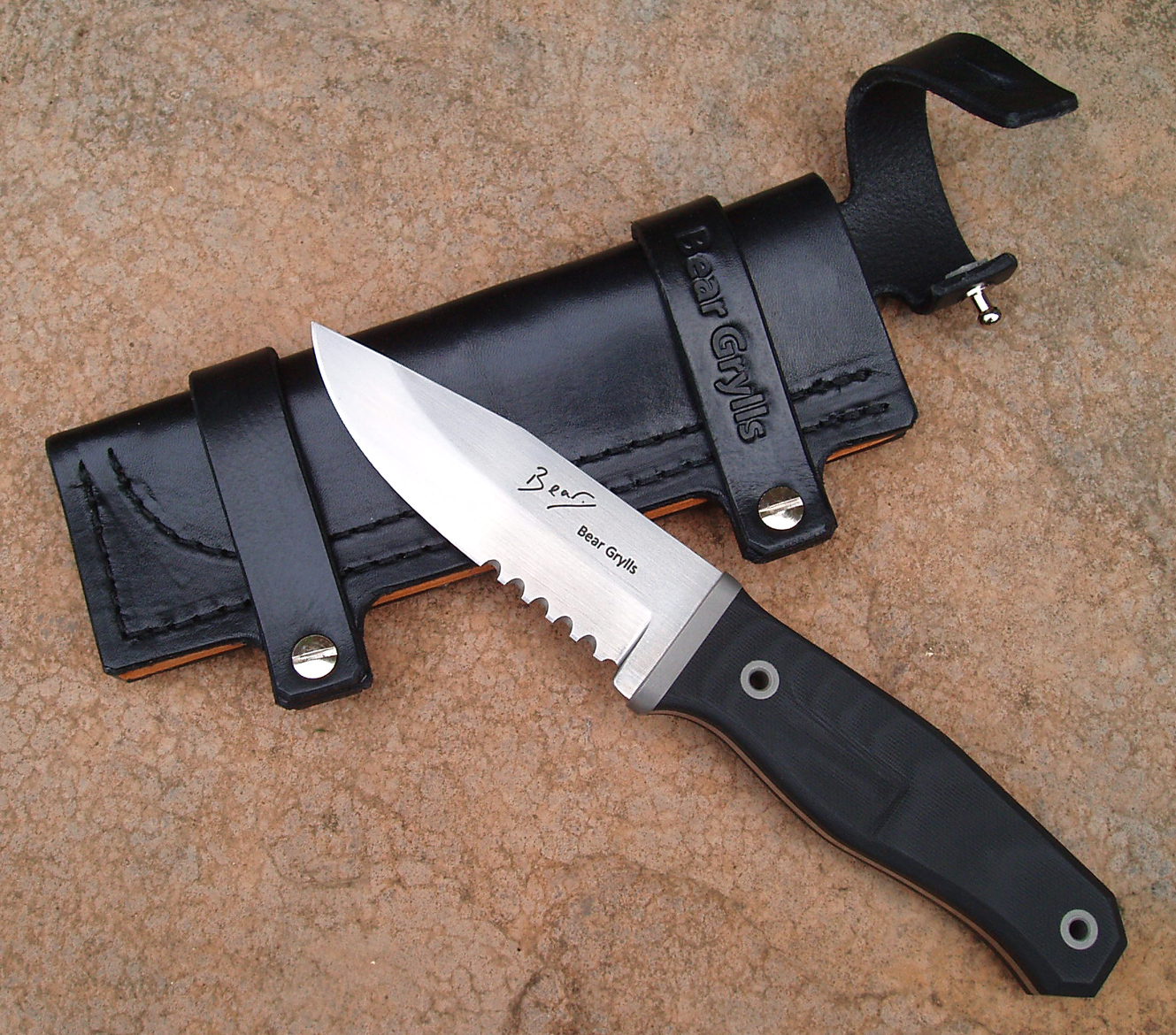 Watch out Rambo - Bear Grylls has a knife now! - The Knife